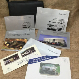 1998 MERCEDES BENZ ML320 OWNERS MANUAL V6